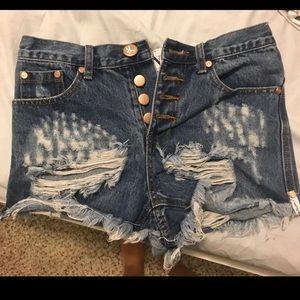 One Teaspoon Romeo shorts!!